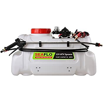 415mWm9W0vL._SL500_AC_SS350_ amazon com seaflo atv spot sprayer 12 volt, 2 2 gpm (13 gallon Spot Sprayer UTV at crackthecode.co