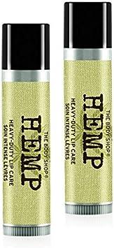 El cuerpo Shop cáñamo labios care-hemp balm-hemp de labios pintalabios 4.2g–Pack de 2