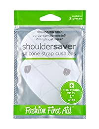 Fashion First Aid Women's Shoulder Saver Silicone Strap Cushions