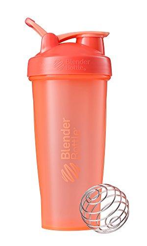 BlenderBottle Classic Loop Top Shaker Bottle, 28-Ounce, Coral/Coral
