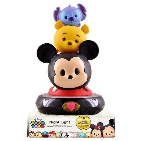 Disney Tsum Tsum 3D Night Light Figurine Lamp
