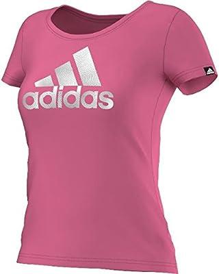 adidas Foil Logo - Camiseta para Mujer f2cff97444d4a