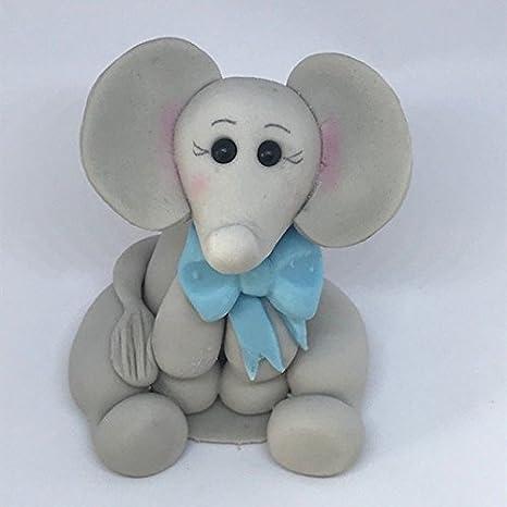 Elefante comestible con lazo corbata, cumpleaños, bautizo ...