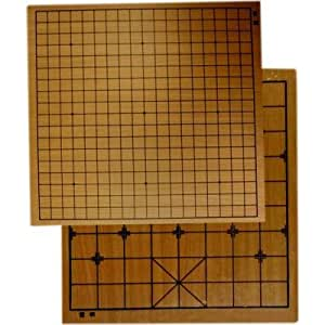 Tablero reversible juego de Go et Xiang Qi