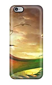 Fashion Tpu Case For Iphone 6 Plus- Dragon Call Fantasy Abstract Fantasy Defender Case Cover