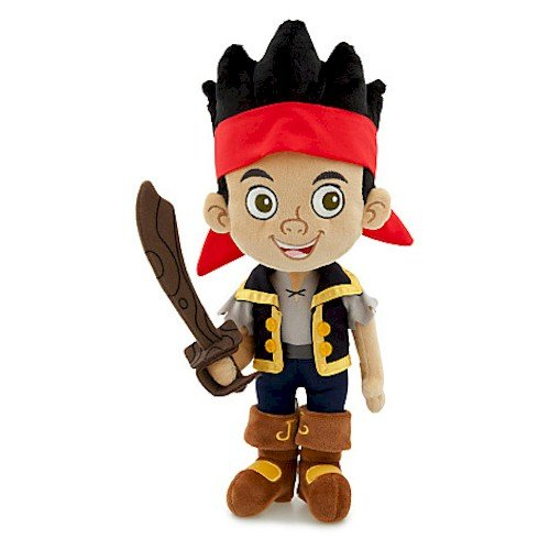 Jake's Soft Pirate Sword (Disney Jake Plush - Jake and the Never Land Pirates - 14'')