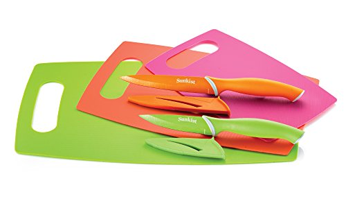 sunkist-set-of-3-nonskid-cutting-mats-with-2-nonstick-knives-with-sheaths-sak3837