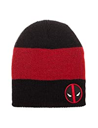 Men's Marvel Comics Licensed Beanie (Various Designs) (Deadpool)