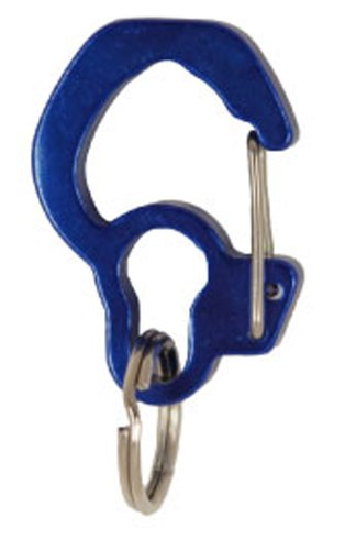 Curve Switch - Rubit The Easy Dog Tag Curve Shape Switch Clip, Medium, 1.07-Inch Diameter, Blue