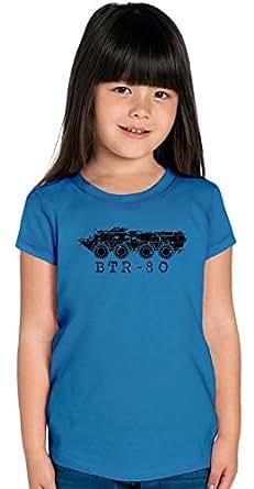 BTR-80 Blueprint Girls T-shirt 12+ yrs
