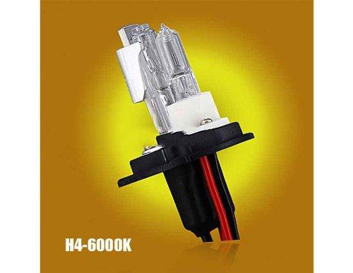 2pcs 12V 35W H4-6000K Auto Car Headlight HID Single Xenon Bu