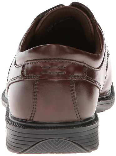 Nunn Bush Mannen Baker Street Vlakte Teen Oxford Kore Anti-slip Casual Kleding Lace Up Bruin