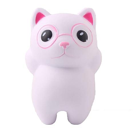 Cute Cat Stress Reliever Scented Super Slow Rising Juguete para Niños Toy Squeeze Cocinitas Montessori Guardar