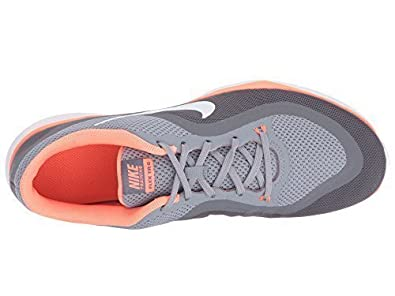 Nike Flex Trainer 6 Stealth   Blanco   Bright Mango  Clear 3b3266