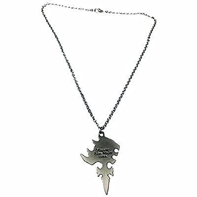 Fantasy RPG Lion Cross Pendant and Necklace: Toys & Games