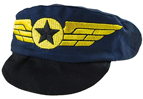 Mombebe Infant Baby Boys' Party Pilot Hats (Pilot, 12-24 Months)