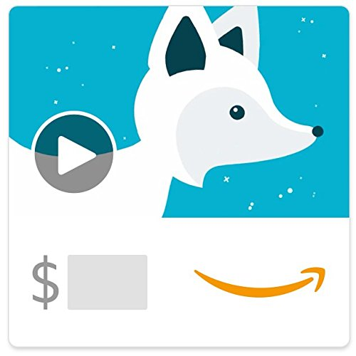 Amazon eGift Card - Holiday Fox(Animated)