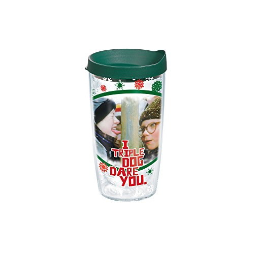 Tervis 1163358 Tumbler with Hunter Green Lid, 16-Ounce, C...