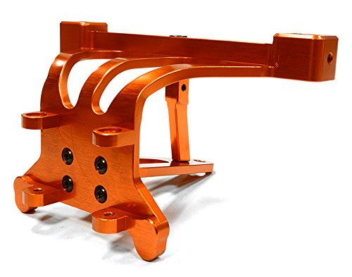 Integy RC Model Hop-ups C26197ORANGE Billet Machined Front Body Post Tower & Pin Mount for Traxxas 1/10 Scale (Billet Aluminum Body)