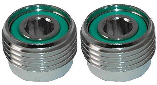 2 Valvole per immersione, con inserti A cilindro Din per convertire A-Clamp valvola CVD