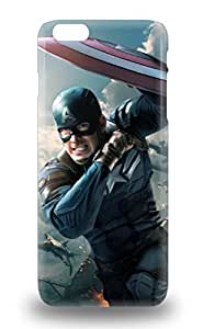 Cute Appearance Cover Tpu Hollywood Captain America The Winter Soldier Sci Fi Adventure Action 3D PC Case For Iphone 6 Plus ( Custom Picture iPhone 6, iPhone 6 PLUS, iPhone 5, iPhone 5S, iPhone 5C, iPhone 4, iPhone 4S,Galaxy S6,Galaxy S5,Galaxy S4,Galaxy S3,Note 3,iPad Mini-Mini 2,iPad Air ) Kimberly Kurzendoerfer