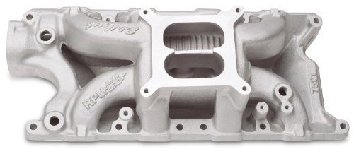 Edelbrock 7521 Performer RPM Air-Gap Intake Manifold - Edelbrock Rpm Air Gap Intake