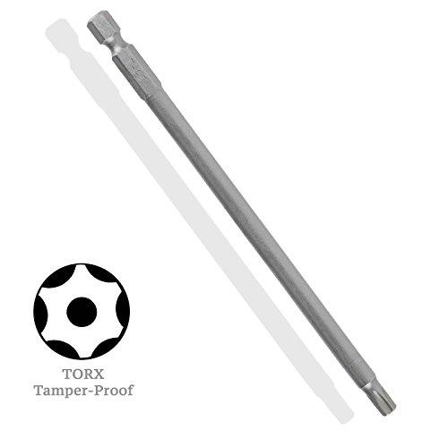 - X-Long 6-inch TORX Star Tamper-Proof S2 Steel Driver Bit - TT-20