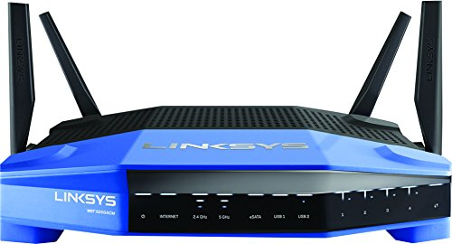 Linksys WRT AC3200 Open Source Dual-Band Gigabit Smart Wireless Router with MU-MIMO, Tri-Stream 160 (WRT3200ACM)
