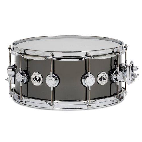 DW Black Nickel Over Brass 5.5x14 Snare by DW