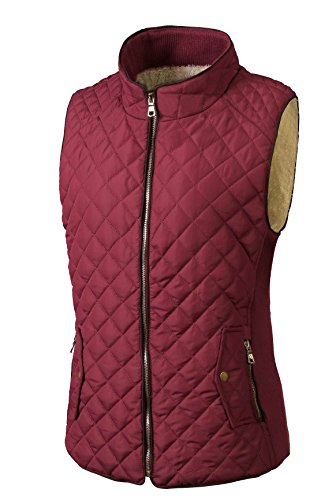 Quilted Two Pocket Vest - 1