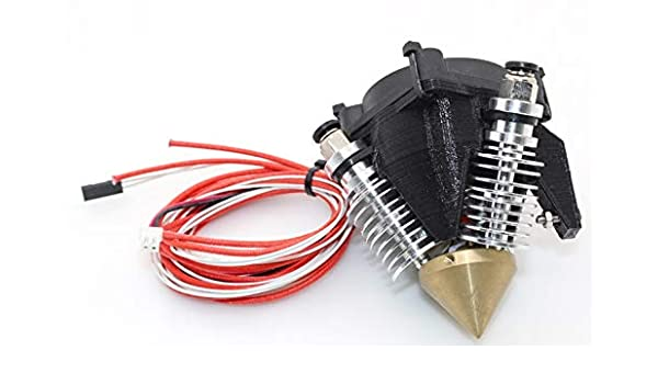 3 in 1 out Hotend for multi-color/Mix color 3D printing: Amazon.es ...