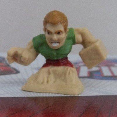 Amazon.com: Ultimate Spider-man Fighter Pods - SANDMAN Figure ...
