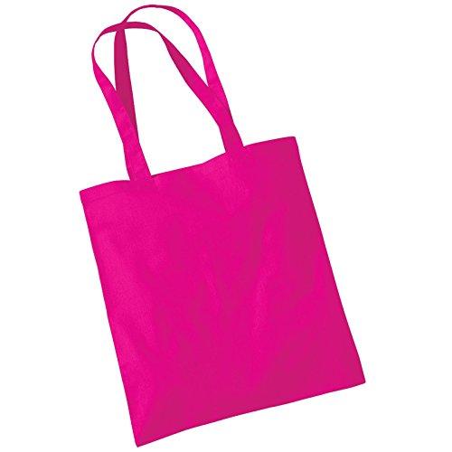 Para el hombro de molinillo de algodón para mujer Westford Promo bolsa de transporte bolsa aislante para fucsia