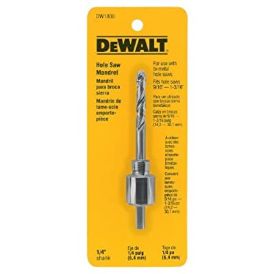 DEWALT DW1800 1/4-Inch Mandrel (9/16-Inch to 1-3/16-Inch ) Size: , Model: DW1800, Tools & Hardware store: Sports & Outdoors