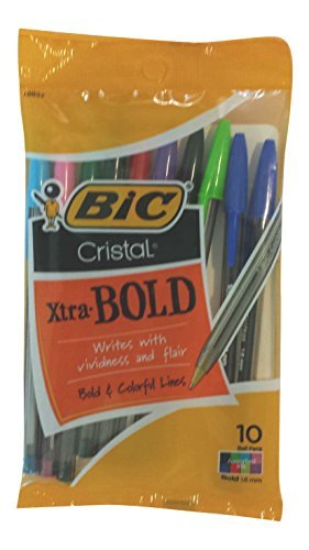 Cristal Xtra Bold Ball Count Assorted