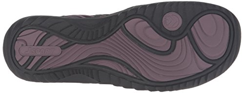 JSport by Jambu Women's Norwich Mary Jane Flat Black/Purple buy cheap wide range of free shipping fast delivery with credit card clearance order discount high quality Bss4kjpLC2