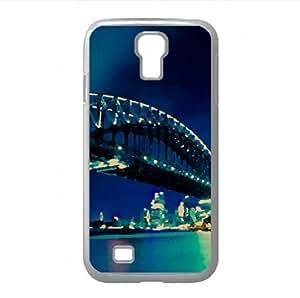Bridge, Night Watercolor style Cover Samsung Galaxy S4 I9500 Case