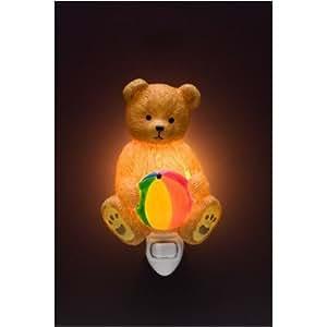 "4.5"" Ibis & Orchid Teddy Bear Night light"