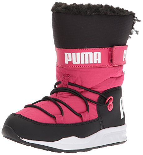 PUMA Unisex-Kids Trinomic Boot Sneaker, Love Potion Black, 3.5 M US Big Kid
