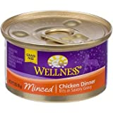 Wellness Minced Canned Cuts Chicken Adult Canned Cat Food, My Pet Supplies