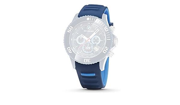 cac995372 BMW pulsera el Deporte del Motor Ice Watch Chrono Reloj de pulsera reloj  unisex azul oscuro: Amazon.es: Coche y moto