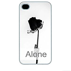 Online Designs alone 2D PC Hard new White ipone 4s Shell