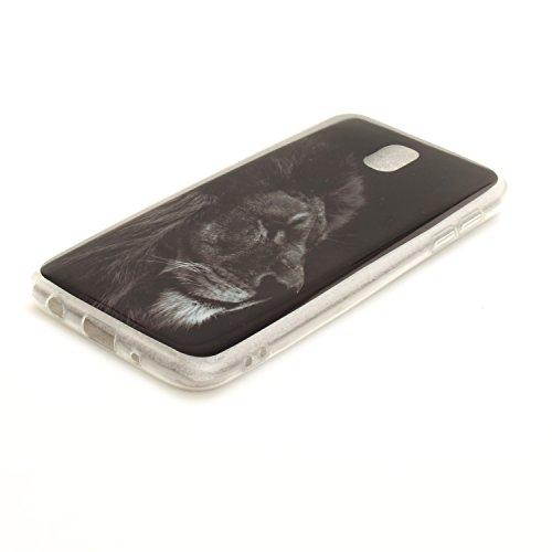 TPU Cas De Souple Cas Couverture Arrière De J5 2017 Fit Peint Samsung Scratch Antichoc J530 En Galaxy Résistant Bord Protection Motif Hozor lion Silicone Téléphone Transparent Slim Bfq8zH7X