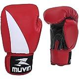 Luva de Boxe Bolt Bx Muvin Lvb-200 - Preto/vermelho - 14