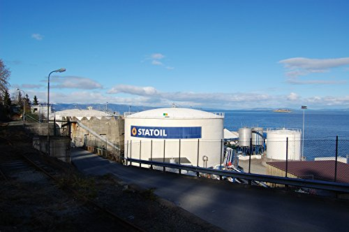 Statoil Owned Fagervika Oil Reservoirs In Trondheim  Norway
