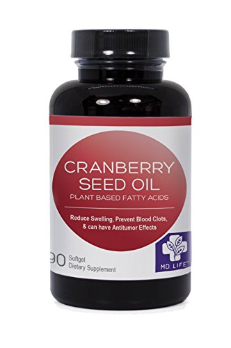 Cheap Cranberry Seed Oil 90 Softgels By MD.LIVE SAVE $$ Compare To Ellura Cranberry Seed Capsules