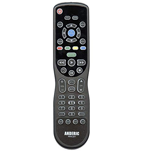 1-Device Universal - Advanced Universal Remote Control with Learning and Backlit Keys - Used with TV/DVD/Cable/Streaming - HOSPSTRC01 - RRHLG01 (Remote Control Jvc Top Shield)