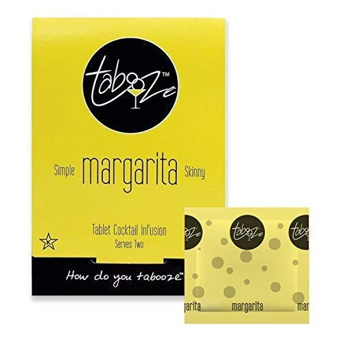 Tabooze Sugar Free Cocktail & Drink Mixer Tablets (Margarita, 8 Tablets)