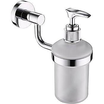 Perfect Leyden TM Liquid Soap Dispenser Pump, Wall Mount Built In Soap/Lotion  Dispenser Ideal