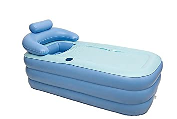 KiHomy SPA Inflatable Bath Tub, Adult Plastic Portable Adult ...